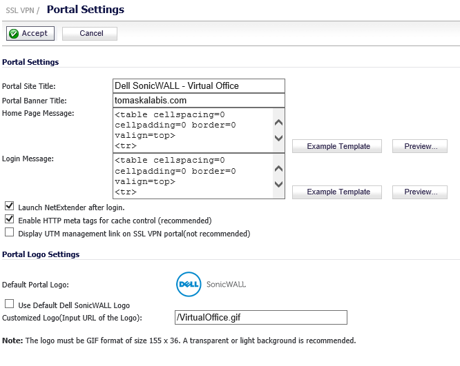 Dell SonicWall - How to configure SSL-VPN