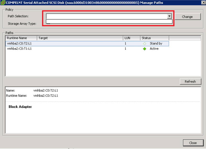 Dell Servers with vSphere 5 5/6 0 and Compellent SCv2020 HBA