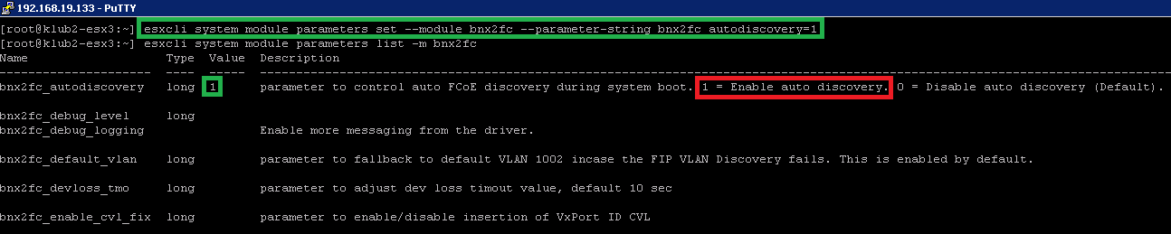 VMware ESXi - FCoE disappearing with Broadcom 75840