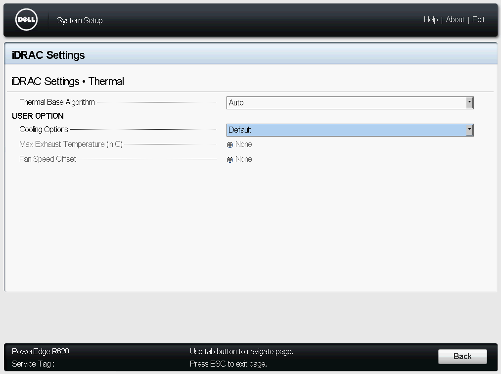 Adjusting Fan Speed Offset on Dell PowerEdge R620 - tomaskalabis com
