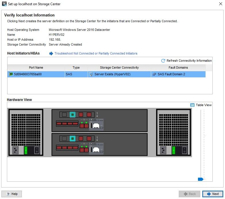 Windows Server 2016 - MPIO and SAS conectivity with Dell EMC